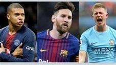 3 cầu thủ hay nhất hiện nay: Ronaldo bị loại