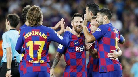 Barca có thể sớm được trao chức vô địch