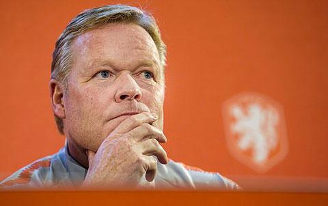 HLV Koeman phải lùi ngày chia tay ĐT Hà Lan để tới Barca