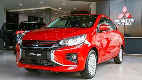 Giá lăn bánh Mitsubishi Attrage 2020, đối thủ của Kia Soluto, Hyundai Accent