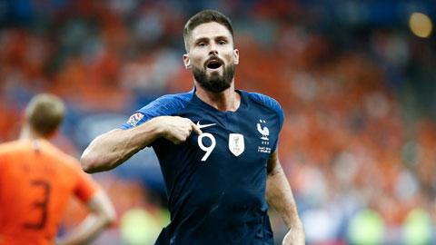 EURO dời sang năm 2021 và nỗi buồn Giroud