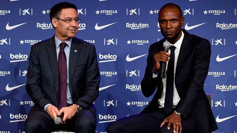 Chủ tịch Bartomeu và GĐTT Abidal đứng ngồi không yên vì các mục tiêu của Barca đang khó tiếp cận
