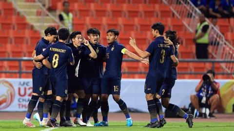 U23 Thái Lan thi đấu khá thành công ở VCK U23 châu Á 2020 khi lọt vào tứ kết  Ảnh: MINH TUẤN