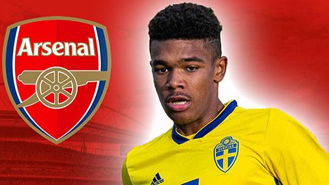 Arsenal và Bayern quan tâm đến Ibrahimovic mới của Thụy Điển