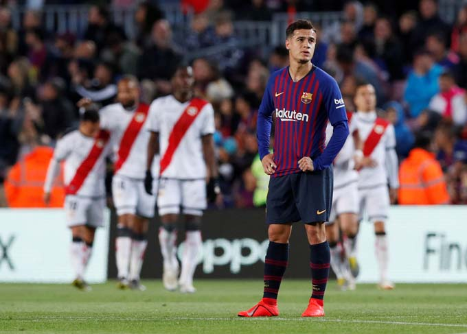 Coutinho không thể hiện được khả năng tại Barcelona và đang muốn trở lại Anh
