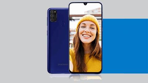 Samsung Galaxy M21 chạy chip Exynos 9611, pin 6000mAh, camera 48MP, giá hơn 4 triệu