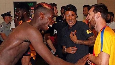 Messi, Neymar, Pogba nhí nhố trong những ngày chống dịch Covid-19
