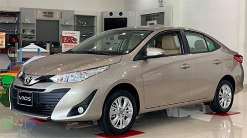 Giá lăn bánh Toyota Vios 2020 mới nhất đầy đủ các phiên bản