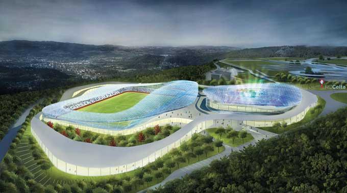 Thành phố thể thao của Celta trong tương lai