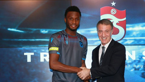 Trabzonspor sẽ không thể có Mikel (trái) trong những trận đấu còn lại của mùa giải