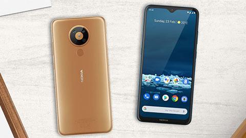 Nokia 5.3 ra mắt với Snap 665, pin 4000mAh, 4 camera sau, giá rẻ bất ngờ
