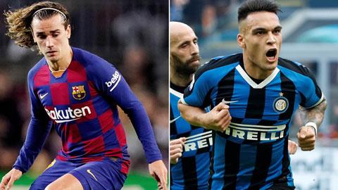 "Barca xem xét ""hy sinh"" Griezmann để mua Lautaro Martinez"