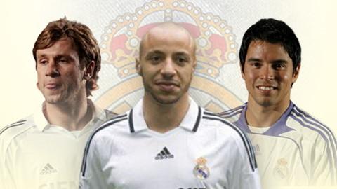 Đội hình những bản hợp đồng thất bại của Real từ đầu thế kỷ 21