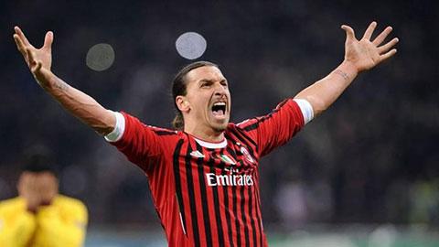 Chân sút đóng góp nhiều nhất cho Milan trong 10 năm qua là Ibrahimovic