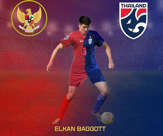 Elkan Baggott đang được cả Thái Lan và Indonesia tranh giành mời gọi