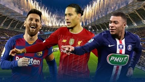 Đội hình hay nhất từ đầu mùa theo số áo: Không Ronaldo, Neymar, Alisson và De Bruyne