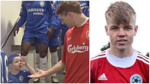 Gerrard bị fan nhí chế giễu