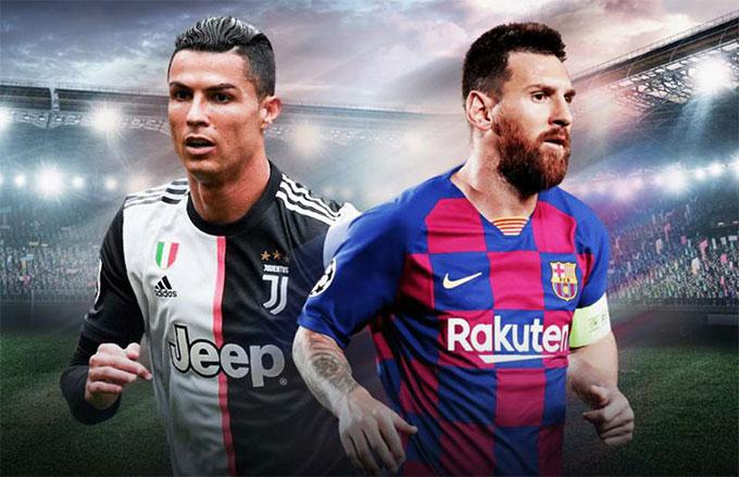Ronaldo và Messi chung tay đẩy lui dịch Covid-19