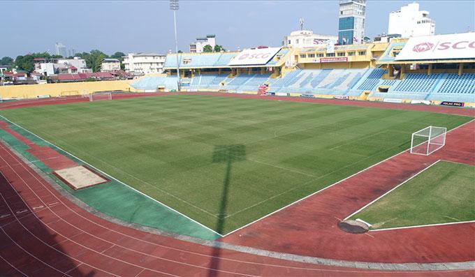 Sân Hàng Đẫy là 1 trong 7 sân được VPF khoanh vùng cho phương án thi đấu tập trung