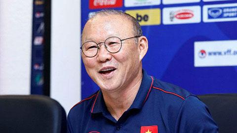 HLV Park Hang Seo bắt đầu nói được tiếng Việt