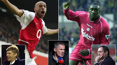 'Arsenal mua Henry và Pires; còn Liverpool chiêu mộ Heskey và Barmby'