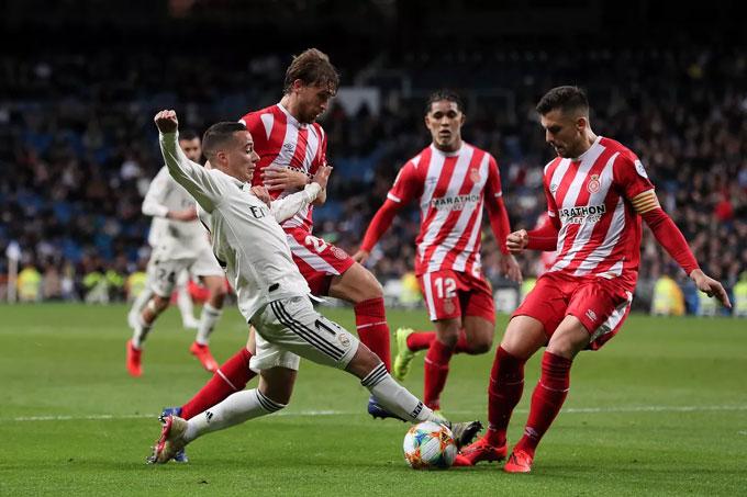 Một cầu thủ của Girona đã dương tính với virus corona