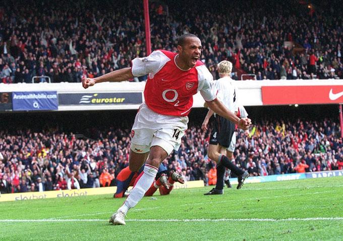 Henry là một tượng đài của Arsenal nói riêng và Ngoại hạng Anh nói chung