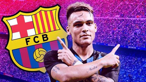 Barca đạt thỏa thuận với Lautaro Martinez, lương 18 triệu euro/năm