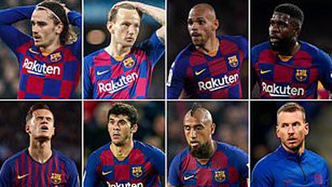 Braithwaite nằm trong danh sách '8 cầu thủ' Barca phải bán