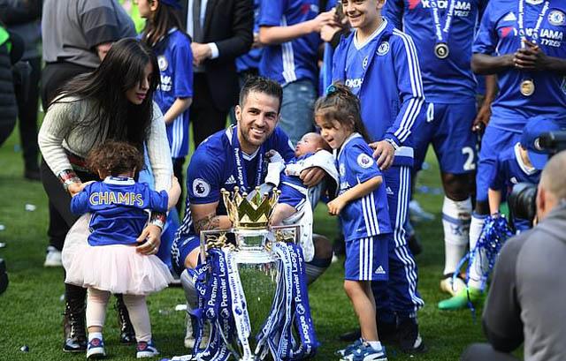 Fabregas đã có những ngày tháng đáng nhớ ở Chelsea