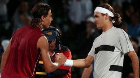 """Nadal từng """"làm thầy"""" Federer khi mới 17 tuổi"""