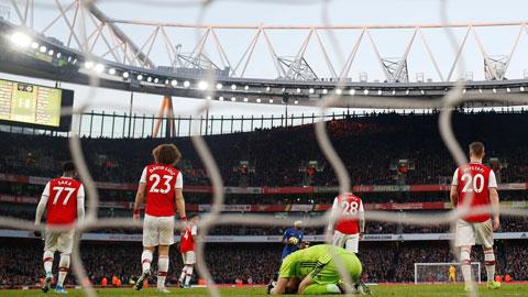 Arsenal còn xứng mặt đại gia?