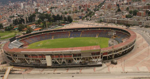 SVĐ El Campin ngày nay, nơi từng diễn ra trận đấu đáng quên năm 1985