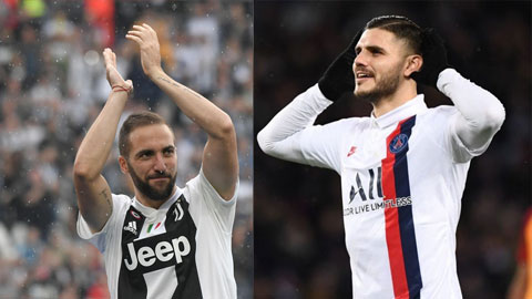 Nếu Higuain đi, Icardi rộng đường đến Juve