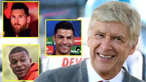Ronaldo và Messi lọt đội hình 'vồ hụt' của HLV Wenger tại Arsenal