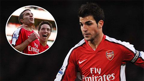 Fabregas hạ thấp Arsenal bằng Van Persie và Nasri