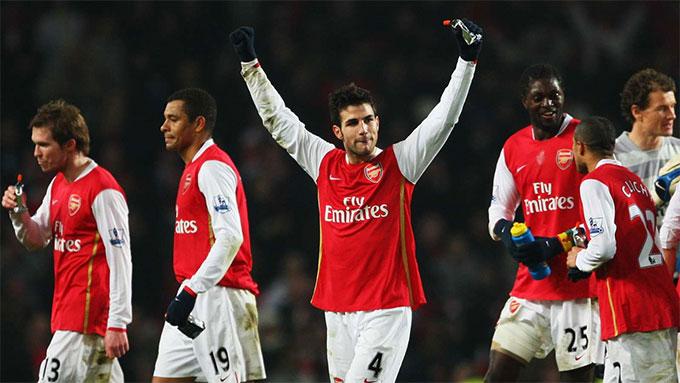 Fabregas không gặt hái được nhiều thành công ở Arsenal