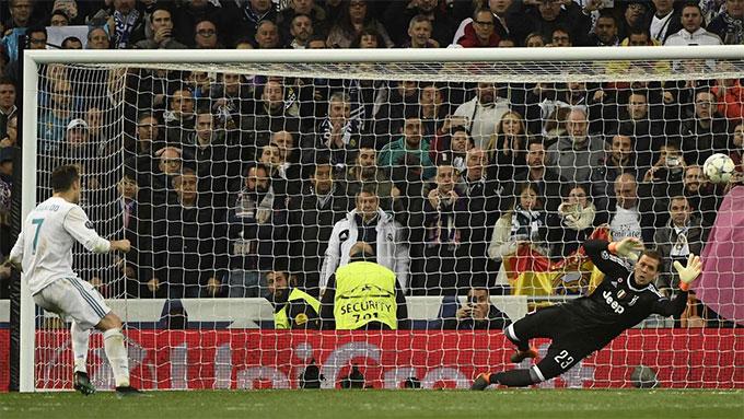 Ronaldo đá 11m rất tốt