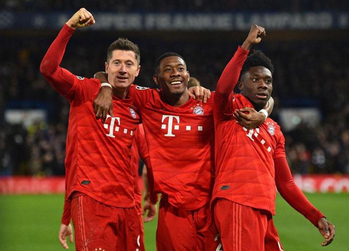 Bayern trở lại manh mẽ thời gian qua