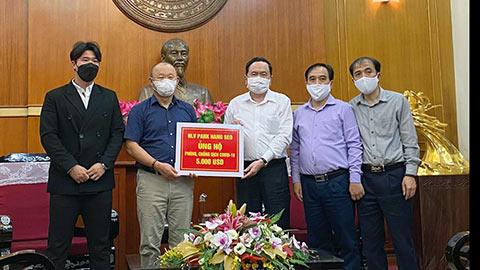 Thầy Park ủng hộ 5.000 USD cho quỹ phòng chống dịch Covid-19