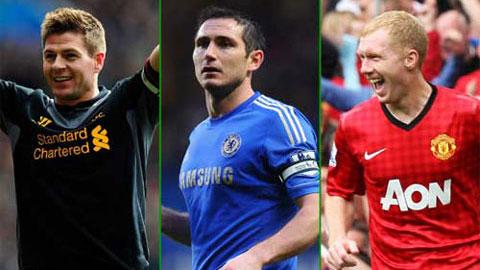 'Gerrard xuất sắc hơn cả Lampard lẫn Scholes'