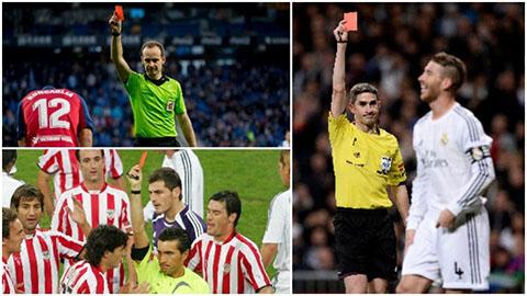 Ramos dẫn đầu top cầu thủ chơi bẩn nhất lịch sử La Liga
