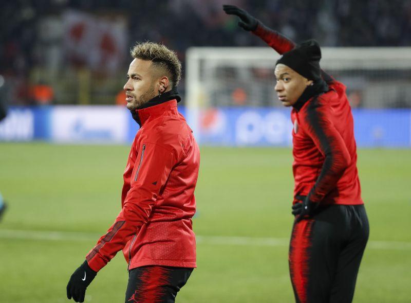 Neymar và Mbappe đang chơi rất hay ở mùa này