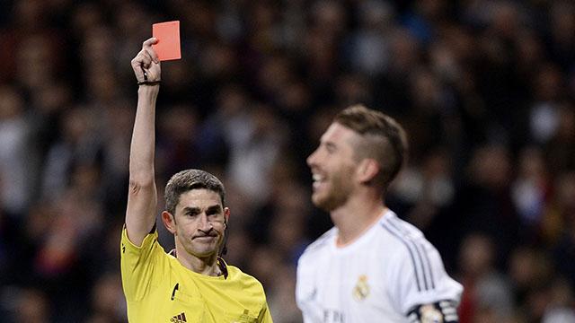 Sergio Ramos: 20 thẻ đỏ