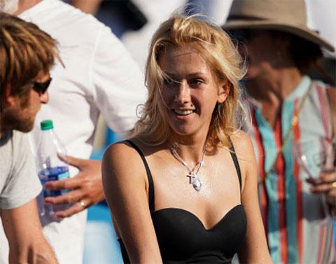 Daria, cô vợ xinh đẹp của Medvedev