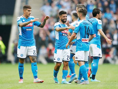 Rất nhiều cầu thủ trong số này sẽ không còn khoác áo Napoli ở mùa tới
