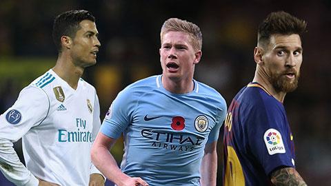 Tranh cãi ở danh sách 50 cầu thủ xuất sắc nhất thế giới thời điểm hiện tại
