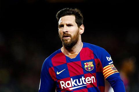 Messi chỉ đứng thứ 14 trong danh sách những VĐV xuất sắc nhất thế giới.