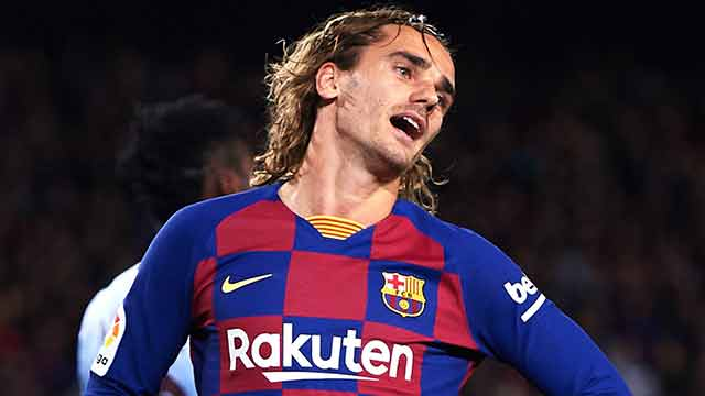Griezmann đang khốn khổ ở Camp Nou