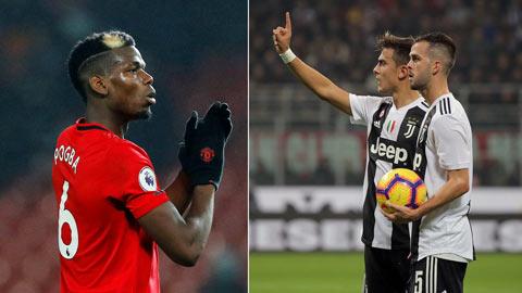 Juventus gán 2 sao cộng 60 triệu euro để giành Pogba với Real